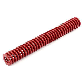 Czerwony średnie obciążenie naciśnij płaskie cewki sprężyna naciskowa 20mm x 10mm x 150mm
