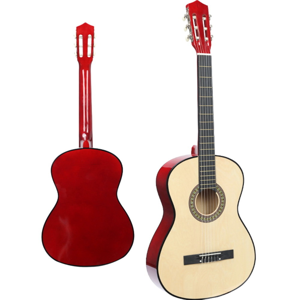 38 Inch Factory Beauty Classical Wood Guitar Beginner Introduction Practice Musical Instrument Classical Guitar WJ-JX5 цена