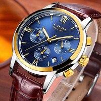 Mens Watches Top Brand Luxury LIGE Men Fashion Military Chronograph Quartz Watch Man Sports Clock Reloj Hombre Relogio Masculino