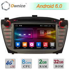 """2 ГБ Оперативная память 32 ГБ Встроенная память 7 """"Android 6.0 Octa core 4 г WI-FI dab USB FM автомобильный DVD мультимедиа Радио плеер для Hyundai ix35 Tucson 2009-2015"""
