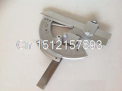 цена на Universal Bevel Protractor 320 degree Angular Dial Stainless steel angle Gauge