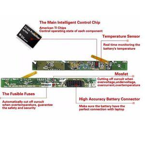 Image 5 - HSW 6 תאי סוללה עבור 40029150 40029231 40029683 BTY S14 BTY S15 E2MS110K2002 E2MS110W2002, E2MS115K2002 MSI6A200SSSA1 bateria