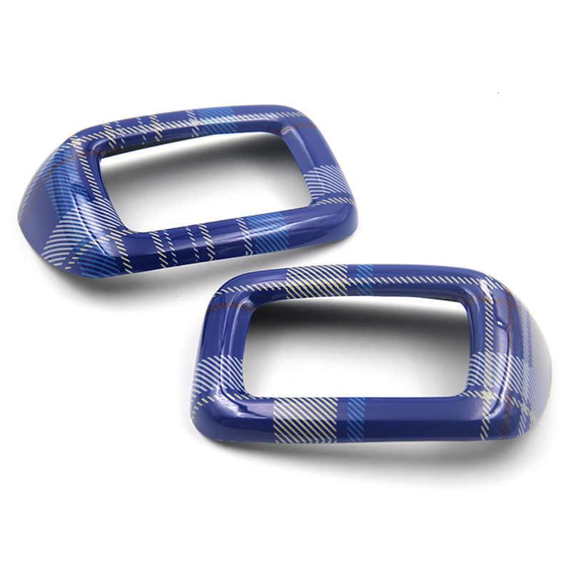 2 pièces/ensemble ABS voiture siège arrière sécurité ceinture boucle couverture garniture casquette décoration pour MINI COOPER Clubman F54 voiture style accessoires