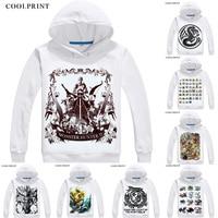 Monster Hunter 4 Online Hoodies Multi style Anime Shirt Thunder Wolf Wyvern Zinogre Cosplay Motivs Kawaii Cosplay Sweatshirts