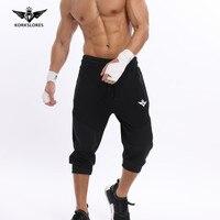 KORKSLORES 2017 Nowy Marka Hot Sprzedaż Bawełniane męskie szorty Rekreacyjne Mężczyźni Oddychające Wygodne Rajstopy Mężczyźni Sportowych Szybkie Suche Szorty