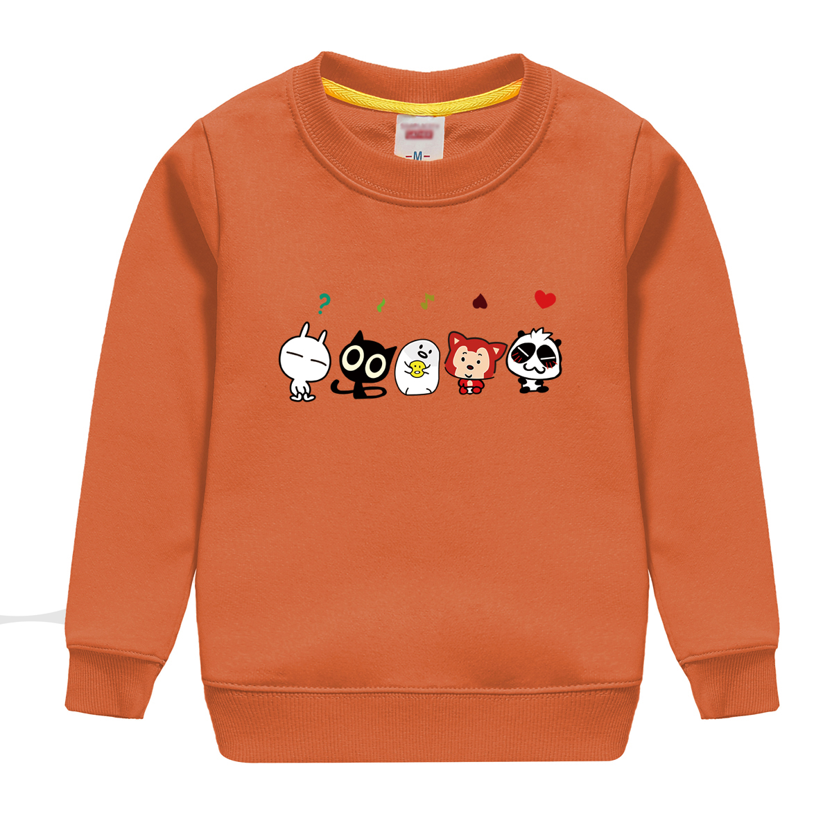 biubiu new fashion winter autumn 100% cotton sweatshirt design for boys and girls , top soft sweater with cute cartoon pattern