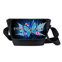 Cut Butterfly Messenger Bag 3D Printing Animals Young Women Travel Bag Causual Shoulder Bags Best Gift