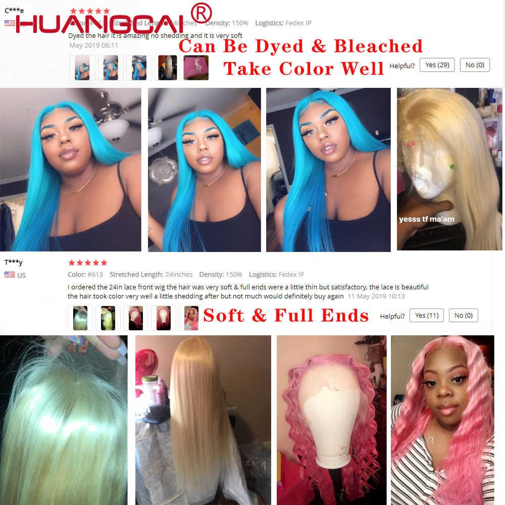 Prosto 613 Blond pełna koronki przodu włosów ludzkich peruk Remy brazylijski peruka z Baby włosów Pre oskubane 180% bezklejowa peruka typu Lace