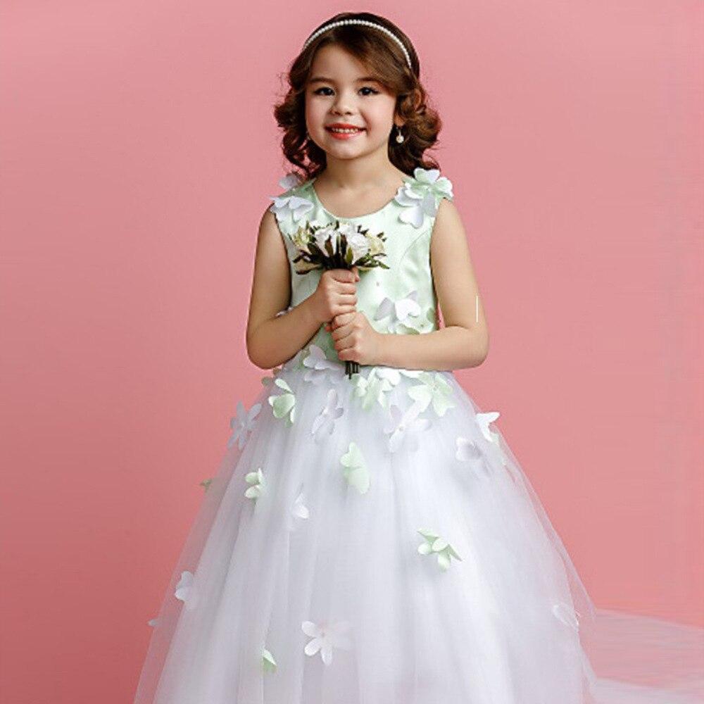 Los niños de la muchacha vestido de novia adolescentes Personalizar ...