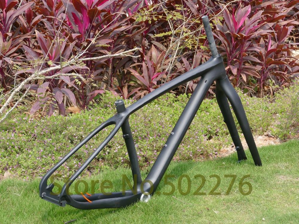 """Prix pour 3 k de carbone UD matte vtt 29 """" roue vtt 29ER vtt cadre 15.5 """" 17.5 """" 19 """" ( BSA / BB30 ) + fourche + casque pince 36.6 MM"""