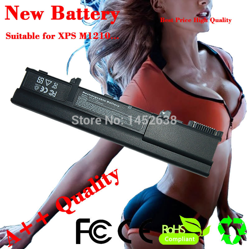 5200mAh Laptop Battery For Dell XPS M1210 312-0435 312-0436 451-10356 451-10357 451-10370 451-10371 CG036 CG039 HF674 NF343