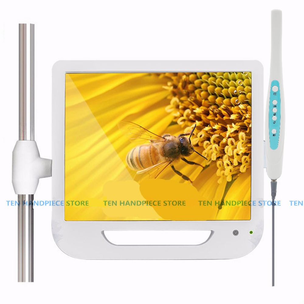 2018 good quality 17 Inch Monitor USB Wifi Intraoral Endoscope Endoscope Camera 6 Led Camera Dental