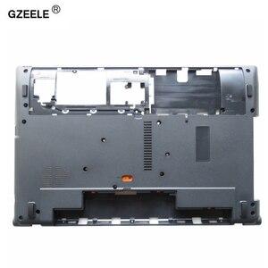 Image 1 - GZEELE جديد حالة أسفل ل أيسر أسباير V3 V3 571G V3 551G V3 571 Q5WV1 V3 531 أسفل قاعدة غطاء الدفتري المحمول الكمبيوتر D حالة