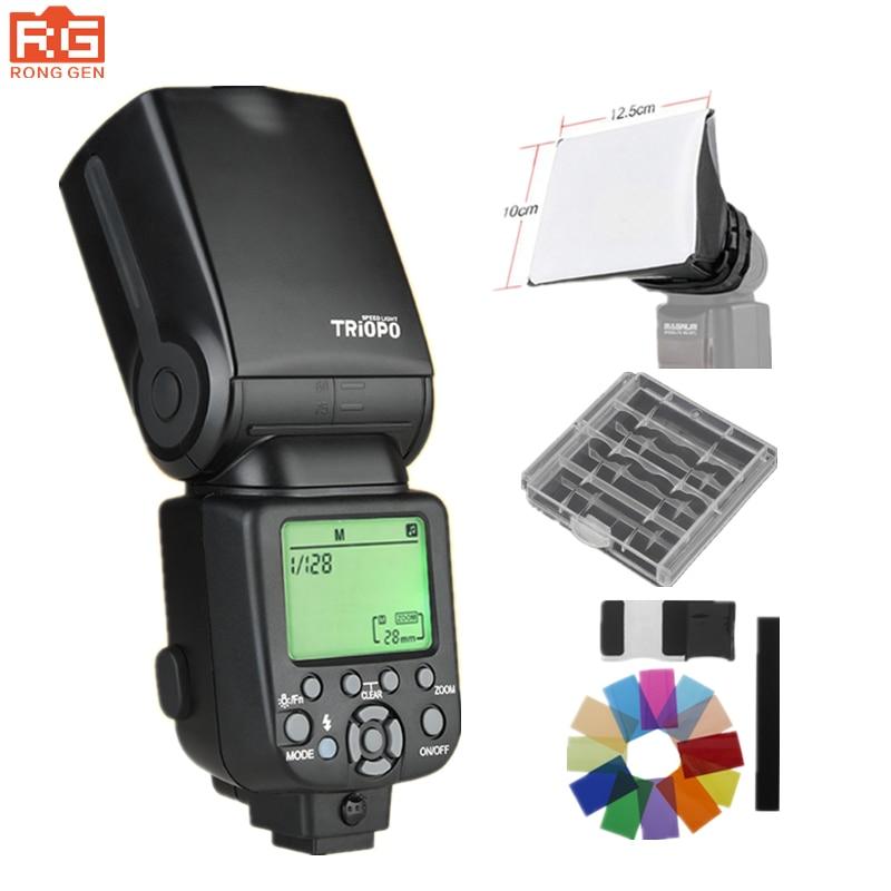 Triopo TR-960 III 2.4G Wireless Flash Speedlight  Suit for Sony A850 A450 A500 A560 A77 A65 A33 A35 vista iii usb 3 0 450