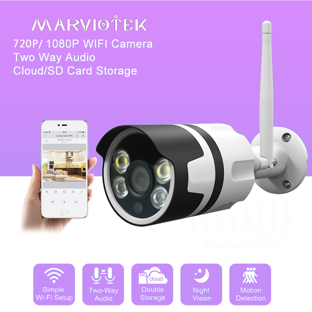 720P CCTV Camera HD 1080P IP Camera Wi fi Home Security Camera Wireless P2P Night Vision Indoor Camera Plug And Play Ipcam IR enklov 960p cctv camera hd ip camera wi fi wireless home security camera plug and play ptz p2p night version indoor camera
