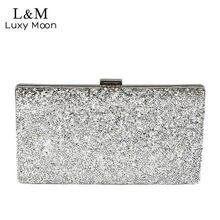 a034d482fd Silver Glitter Clutch Promotion-Shop for Promotional Silver Glitter ...