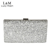2015 Diamond Women Clutch Rhinestone Party Chain Clutches Ladies Crystal Evening Bag Dresses Hand Bag Black