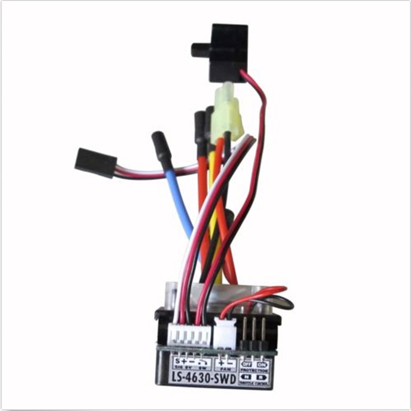 HBX LS-4630-SWD 45A Brushless ESC Speed Controller for 1/18 1/12 RC Car Truck джеггинсы из денима