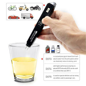 Image 5 - 2 In1 Brake Fluid Tester Pen Tire Pressure Guage Meter LCD Display 12V Auto Automotive Testing Tool Car Accessories