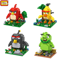 LOZ RED CHUCK BOMB LEONORD  Mini Diamond Building Blocks Children Intelligence Models Building Toy Action Figure