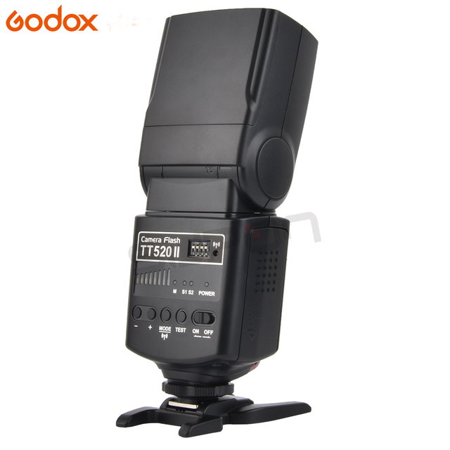 Godox TT520II Flash Speedlite with Build-in 433MHz Wireless Signal+Color Filter Kit for Canon Nikon Pentax Olympus DSLR Cameras