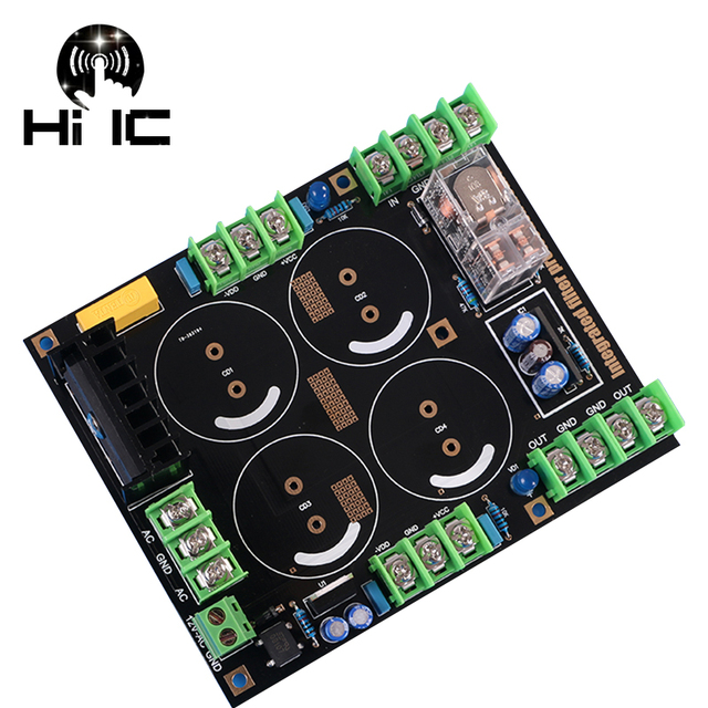 High Power Amplifier Rectifier Filter Fever Capacitor Filter Power Amplifier Board Audio Rectifier Power Supply