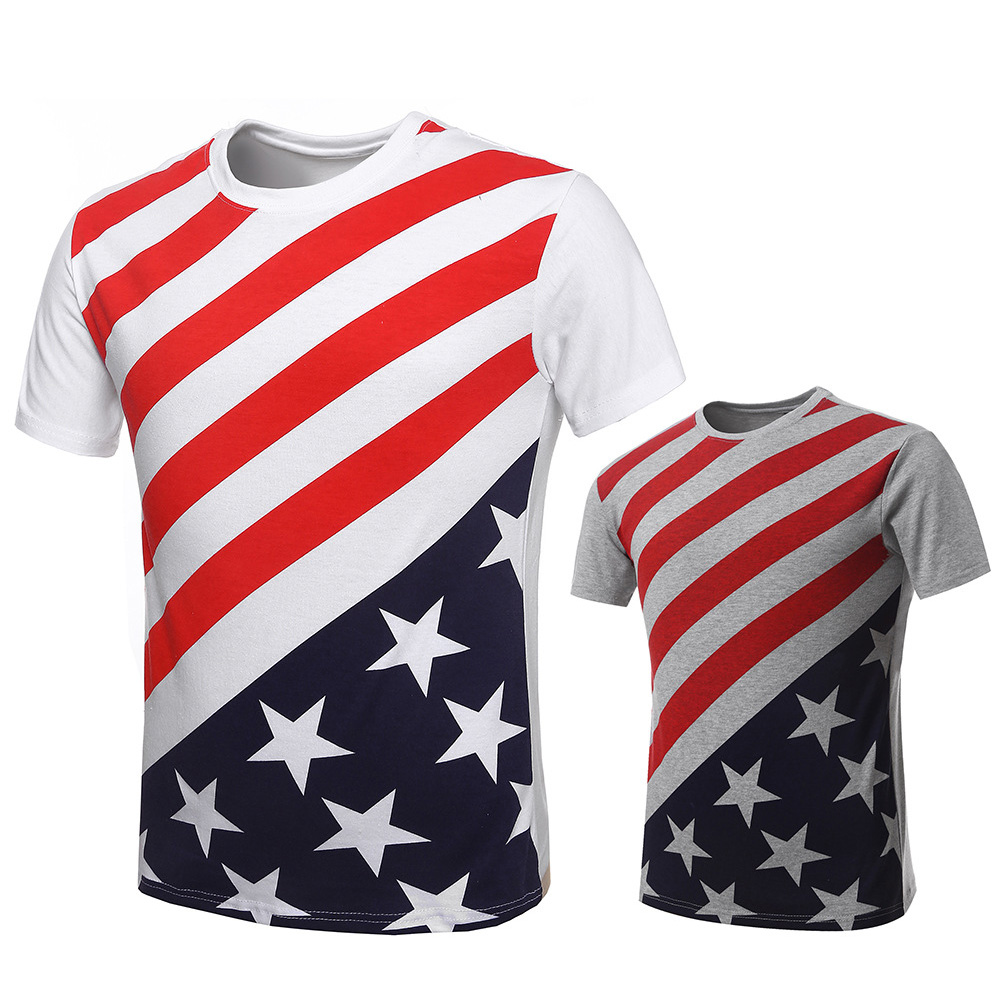 Design your own t shirt made in usa - New Arrival T Shirt Men Summer Casual Clothing Short Sleeve Tshirt Man T Shirts Usa
