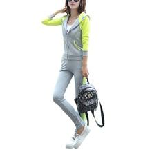 New Tracksuit Women 2 Piece Set Top And Pants Sportwear Plus Size 3xl Causal Clothing S Hoodies Sweatshirt Sweat Suit