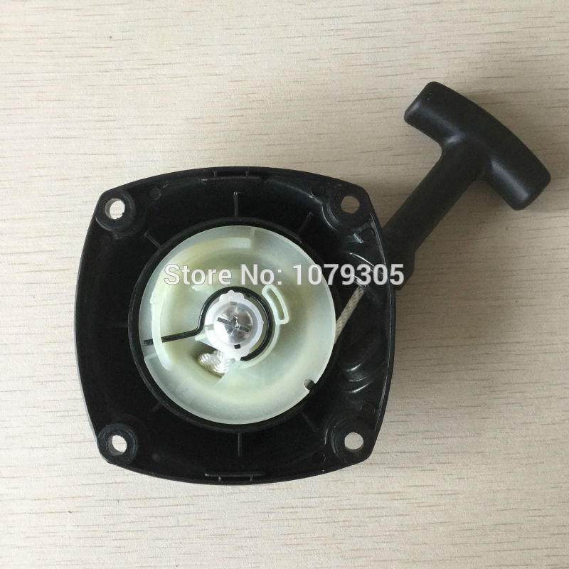 Recoil starter for G45L BC4310 FW4310 cheap pull starter assy brush cutter part recoil starter assembly for zenoah gw26i g260 26cc rc boat g290 g300 g320 pu pum puh pull starter assy komatsu part