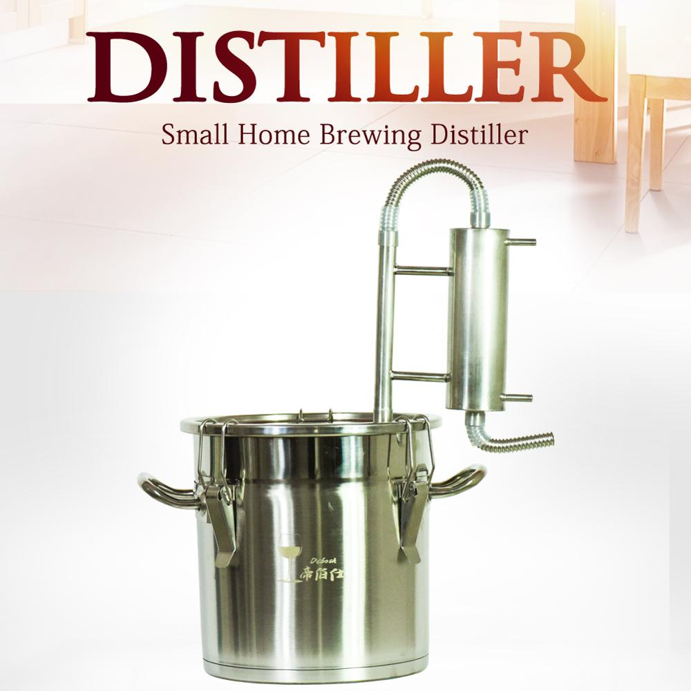 Ev ve Bahçe'ten Damıtıcılar'de Yeni varış 12L Moonshine Distiller alkol ev yapımı şarap damıtma ekipmanları votka viski brendi damıtma Homebrew damıtma'da  Grup 1