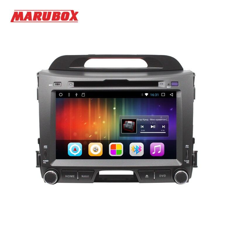 MARUBOX 201DT3 Android 7.1 Voiture Lecteur Multimédia Stéréo Pour Kia Sportage 2010 + DVD/Bluetooth/Radio/Audio mirrorlink Capacitif