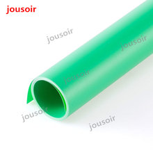 "100 x 200cm 39""*79"" Green Seamless Water-proof PVC Backdrop Background Paper for Photo Video Photography Studio CD50(China)"