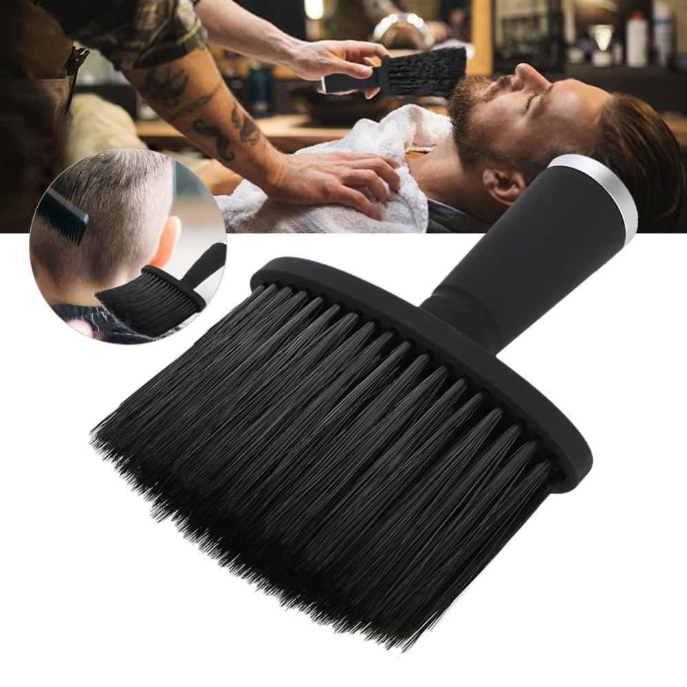 Soft Hair Brush Neck Face Duster Hairdressing Hair Cutting Cleaning Brush for Barber Salon Hairdressing Styling Tools