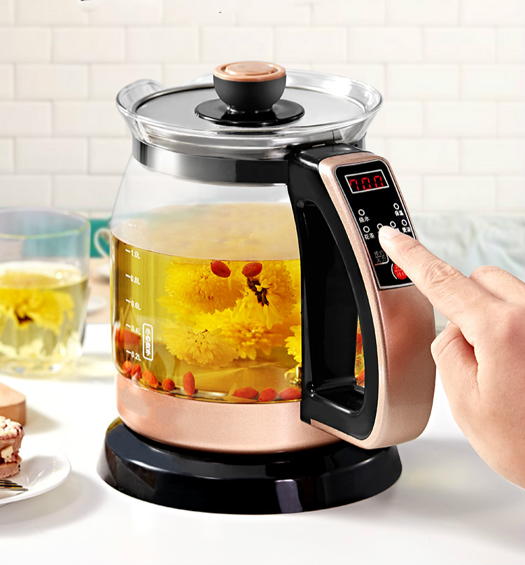 Electric kettle household automatic power cut tea transparent glass mini integrated insulation thermostatic intelligeElectric kettle household automatic power cut tea transparent glass mini integrated insulation thermostatic intellige