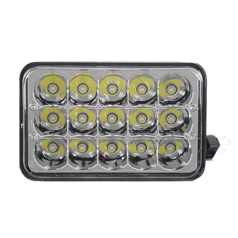 "7/""X6/"" LED HID Cree Light Bulbs Clear Sealed Beam Crystal Headlight Headlamp IP67"