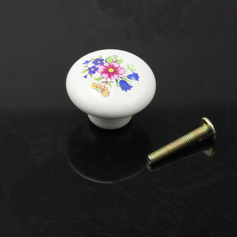 1 шт. керамические кухонные дверные ручки шкаф ящик комод шкафчик ручка