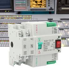 AC 230V 2P Dual Power Automatic Transfer Switch 63/80/100A Noise-free Automatic Transfer Toggle Switch цена 2017