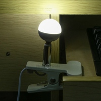 Mini DC 5V 4W 320LM USB Powered LED Light Bulb with 1.5M Switch Cable