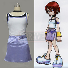 Kingdom Hearts 1 Kairi Halloween Cosplay Costume