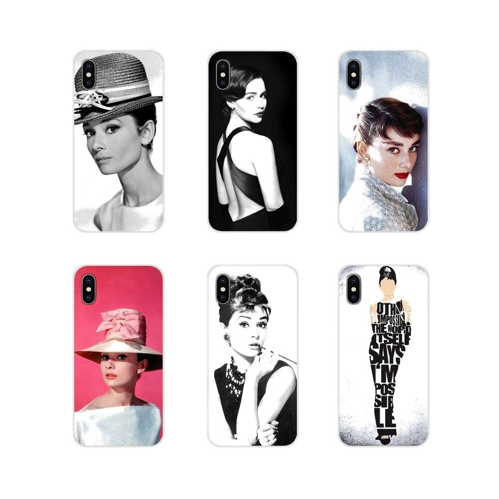 Phone-Cases-Covers Hepburn-Accessories Audrey Xiaomi Redmi Pocophone F1 Plus Note 3 6A