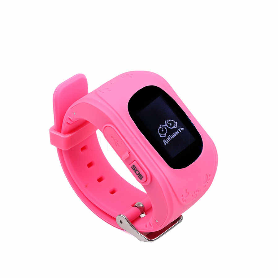sikeo Anti Lost GPS Smart Tracker Watch Tracker For Kids SOS GSM For Android Emergency GSM Smart Bracelet Wristband Alarm