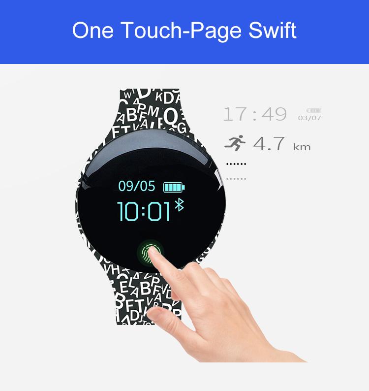Montre intelligente pour Android IOS 8