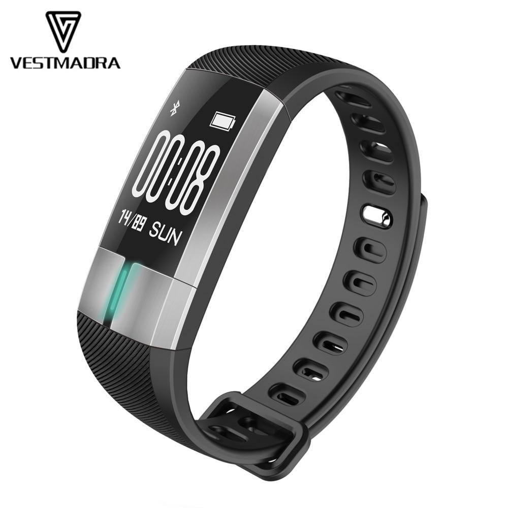 VESTMADRA G20 ECG Monitoring Smart Bracelet Fitness Activity Tracker Blood Pressure Wristband Heart Rate Smart Band