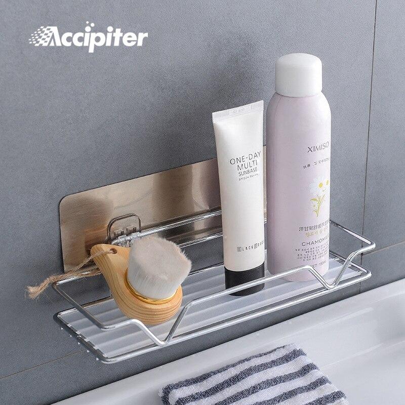 Etagère salle de bain etagère de rangement d'angle organiseur douche etagère murale avec ventouse 304 acier inoxydable cuisine etagères salle de bain