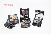 MEIS Brand Makeup Cosmetics Professional Makeup 4 Colors Eye Shadow Eyeshadow Palette  Eyeshadow Eye Shadow Palette MS0405