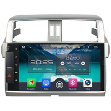 Android 6.0.1 Octa Core 4GB RAM 32GB 2 Din Multimedia Car Radio Player Bluetooth Autoradio Audio For Toyota Prado 2014-2015