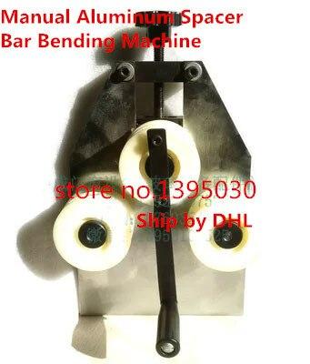 Manual Aluminum Spacer Bar Bending Machine Window Frame Bending Machine manual metal bending machine press brake for making metal model diy s n 20012