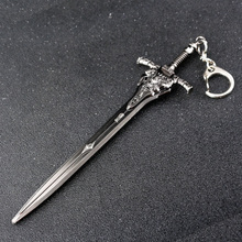 Dark Souls 3 Key Chain Greatsword of Artorias Keychain Solaire Of Astora Sun Pendant Keyring for Men Cosplay Jewelry