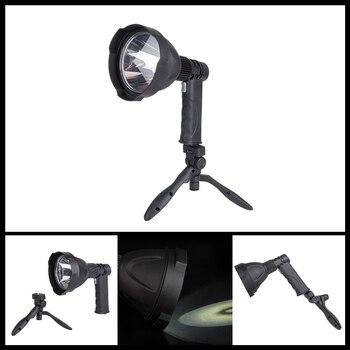 USB Girişi/Çıkış Şarj L2 LED el feneri 6000LM El Flaş Işığı Lambası Torch Fener Standı Desteği Ile dahili Pil