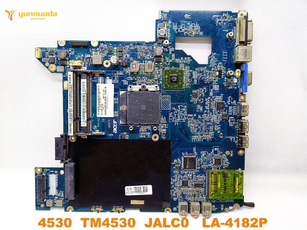 Original For ACER TM4530 Laptop Motherboard 4530 TM4530  JALC0  LA-4182P Tested Good Free Shipping